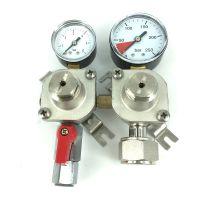 Tapclean CO2 Mini reduceer meter lage druk 0-1,5 bar, 1 uitgang JG 3/8 insteek = 9.5 mm