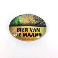 Logo Ovaal bol bier van de maand