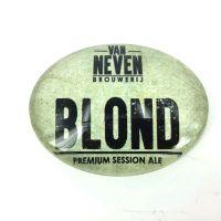 Logo Ovaal bol Van neven blond