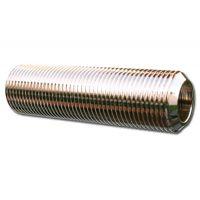 RVS Verleng stuk 5/8 buitendraad lengte 80 mm binnen diameter 10 mm