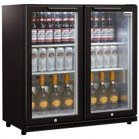 Husky C2  -865-BK-NL-HU  Glasdeur koelkast
