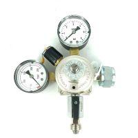 VBM CO2 Reduceer meter 0-6 bar, werkdruk 4 bar, 1 uitgang 5/8 met wandmontage
