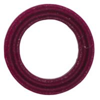 Ring Nylon 18 x 11.7  3.5 mm rood voor co2 meter of hoge druk slang