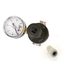 TOF CO2 Mini reduceer meter 0-10 bar voor weggooi CO2 flesjes